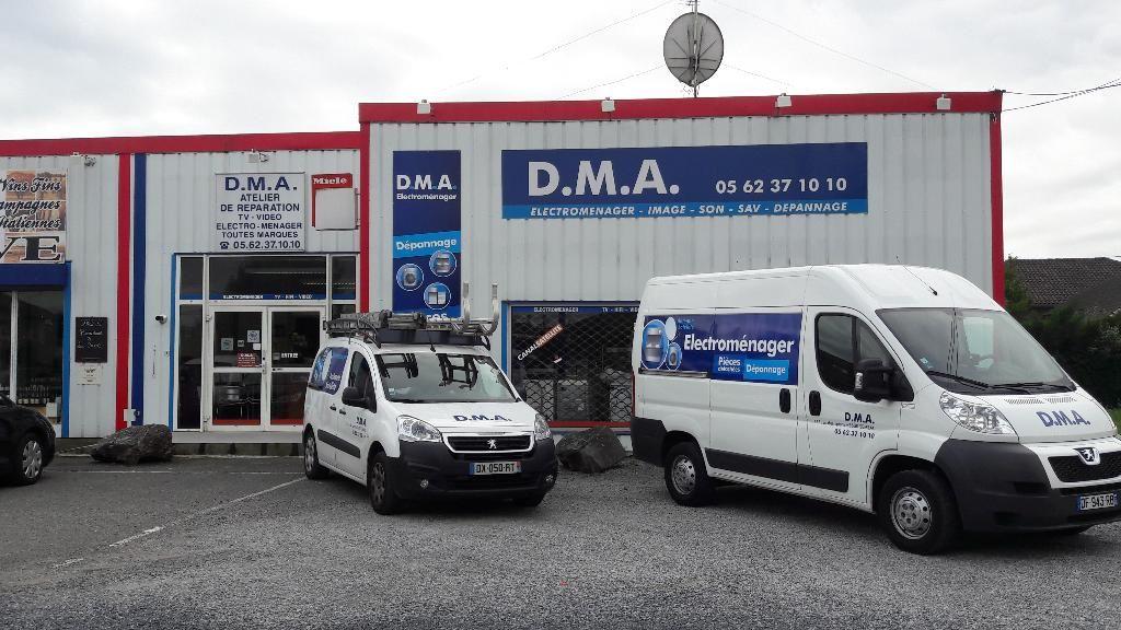 DMA Dépanage Ménager Audiovisuel dépannage d'électroménager