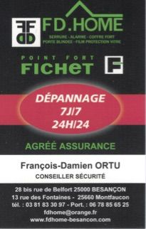 FD HOME - Point Fort Fichet dépannage de serrurerie, serrurier