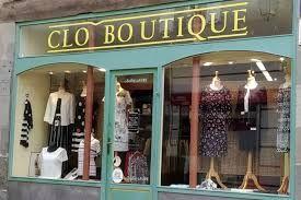 Clo Boutique vêtement pour femme (détail)