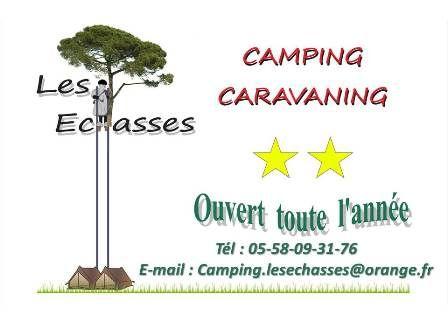 Camping Les Echasses SARL location de vélo, de moto et de scooter