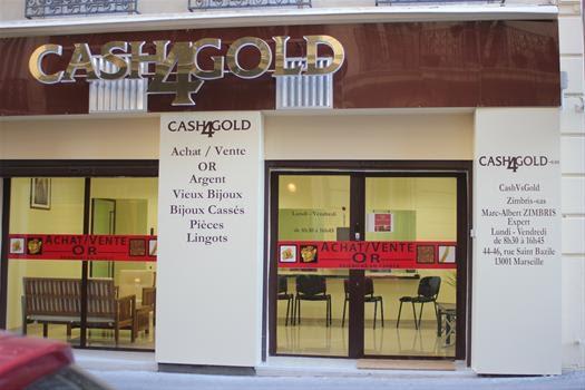Cash4Gold Marseille bijouterie et joaillerie (détail)