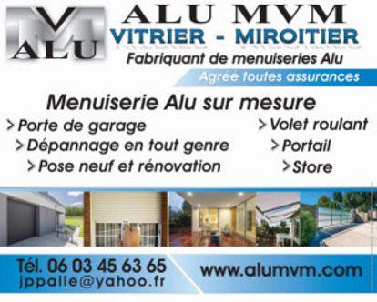ALU MVM Jean Pierre PALLE vitrerie (pose), vitrier
