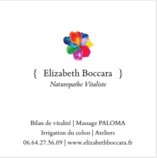Boccara Elizabeth kiné, masseur kinésithérapeute