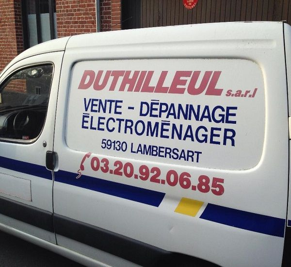 DUTHILLEUL Sarl - Dépannage et vente électroménager Lille dépannage d'électroménager