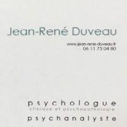 Jean-René DUVEAU PSYCHOLOGUE psychologue