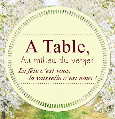 A Table Au Milieu Du Verger location de matériel industriel