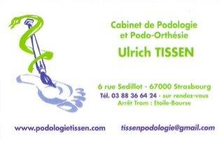 Cabinet de Podo-Orthésie Tissen podologue : pédicure-podologue