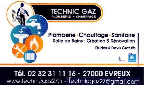 Technic Gaz plombier