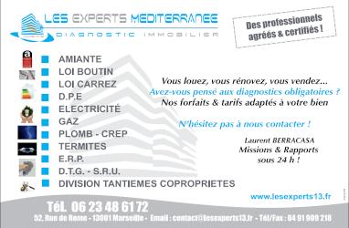 A.D.E.M13  Les Experts Mediterranée expert en immobilier