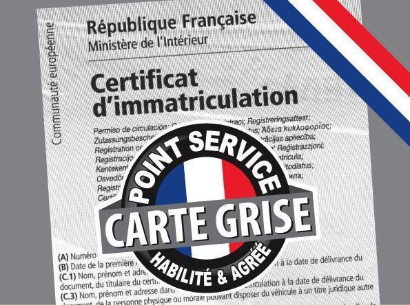 As France service carte grise préfecture et sous préfecture