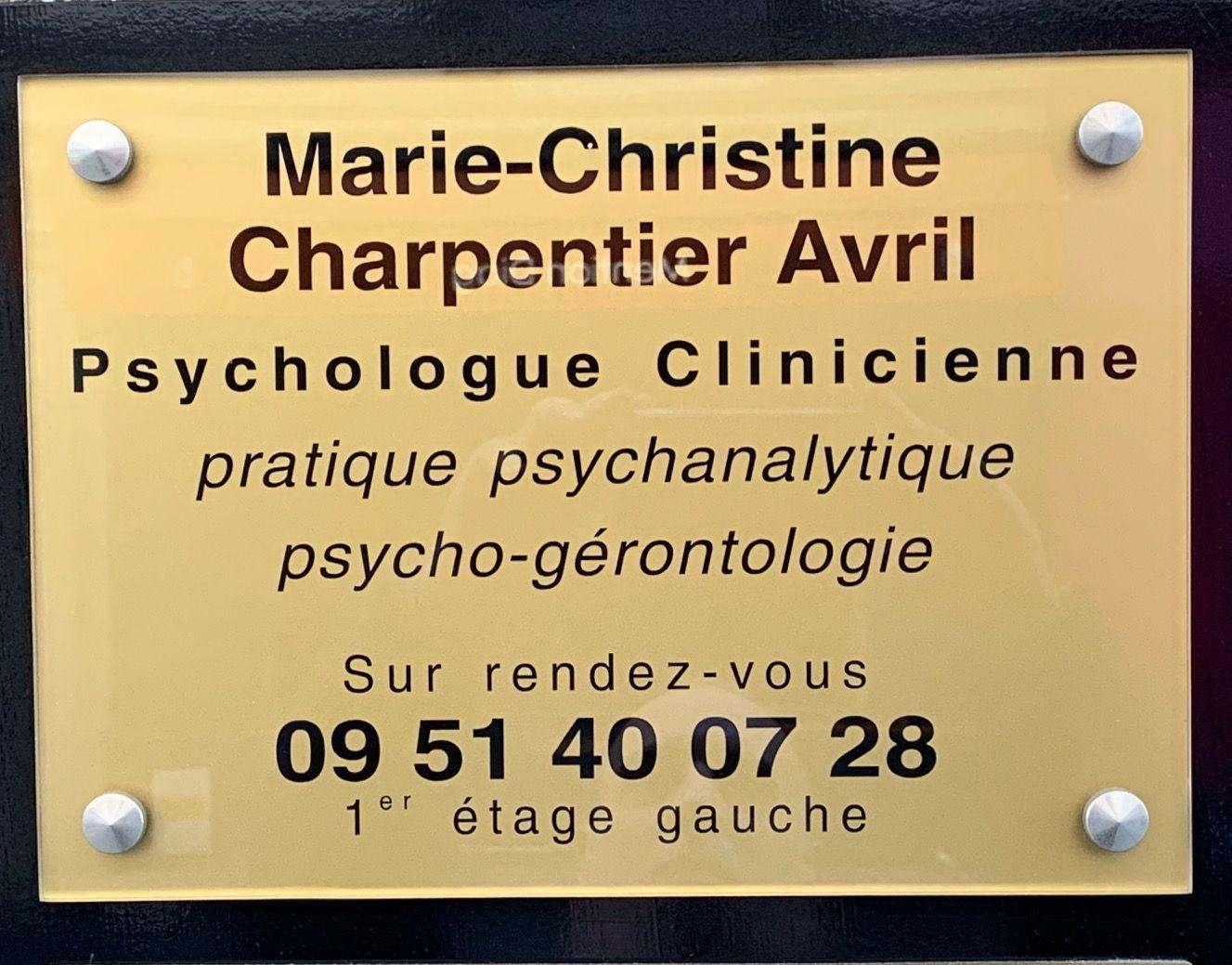Charpentier Avril Marie-Christine