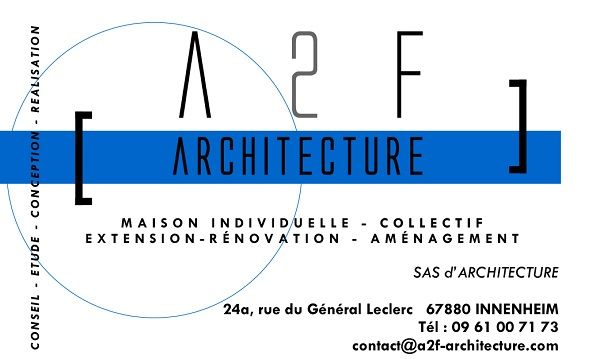 A2F Architecture architecte et agréé en architecture
