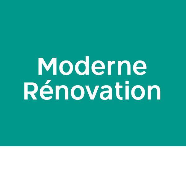 Moderne Rénovation