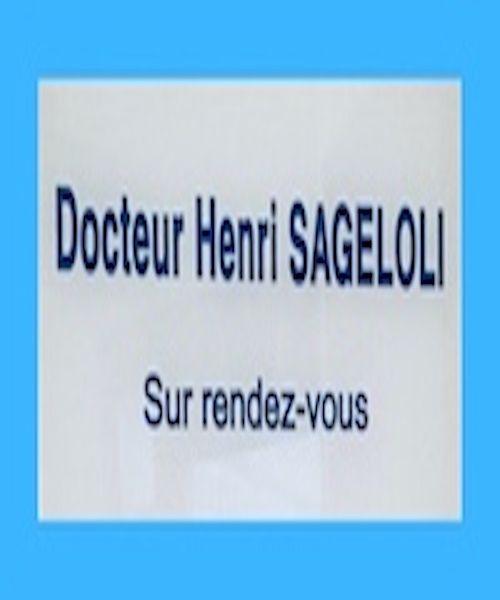 Docteur Henri Sageloli médecin généraliste
