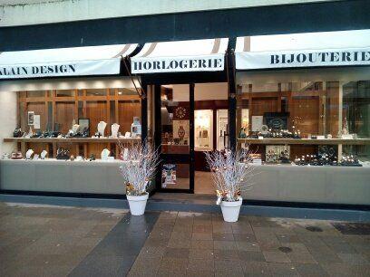 Alain Design bijouterie et joaillerie (détail)