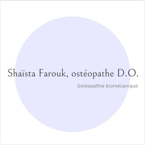 Farouk Shaïsta ostéopathe