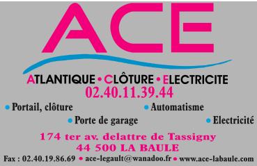 ACE SARL - Atlantique Clôture Electricité porte et portail