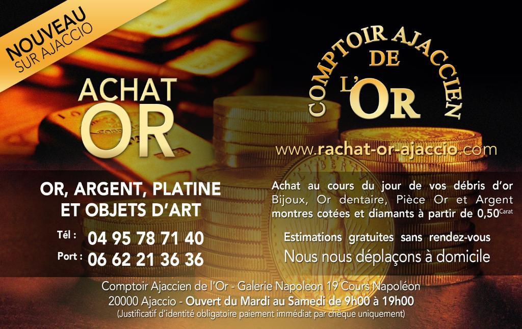 Comptoir Ajaccien De L'Or CAO bijouterie et joaillerie (détail)