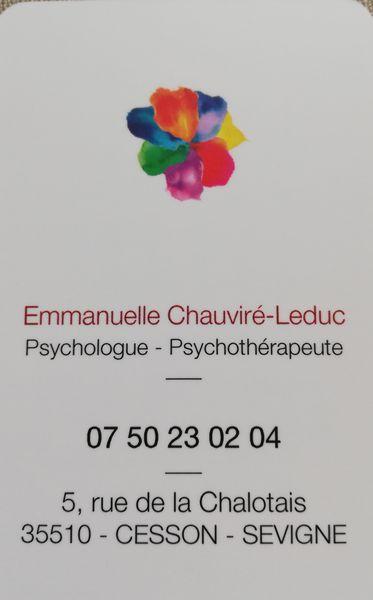 Chauviré-Leduc Emmanuelle