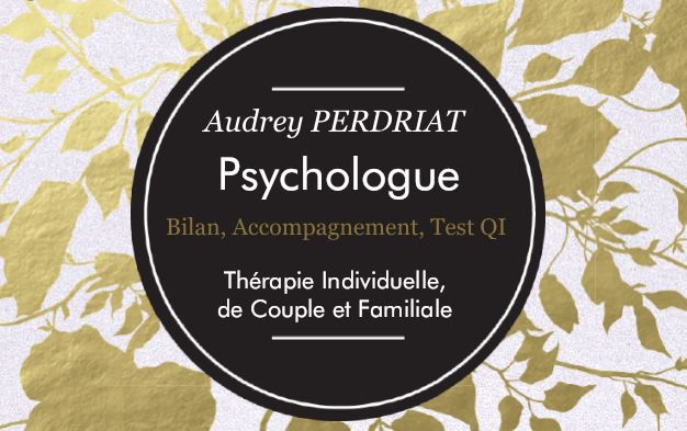 Audrey PERDRIAT Psychologue psychologue