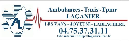 Ambulances Taxis Laganier taxi