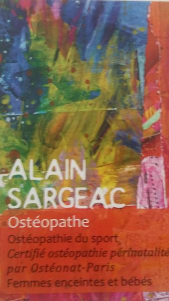 Sargeac alain ostéopathe ostéopathe