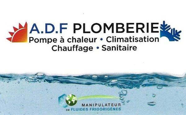 A . D . F Plomberie SAS climatisation, aération et ventilation (fabrication, distribution de matériel)