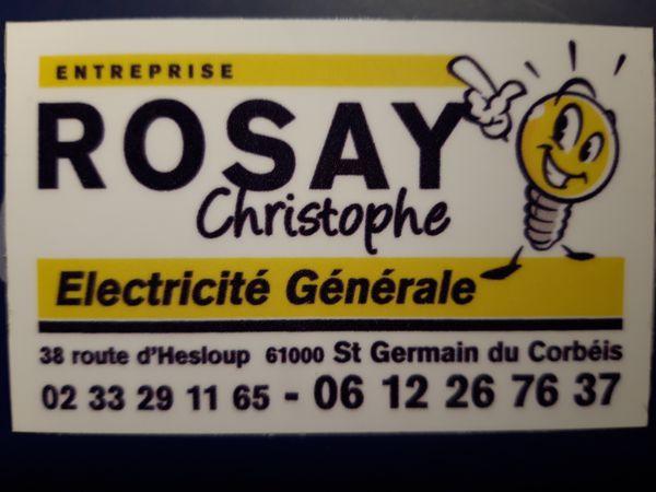 Rosay Christophe électricité générale (entreprise)