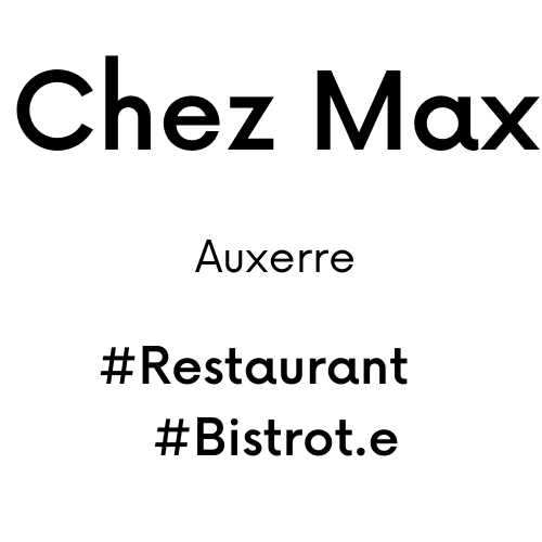 Chez Max café, bar, brasserie