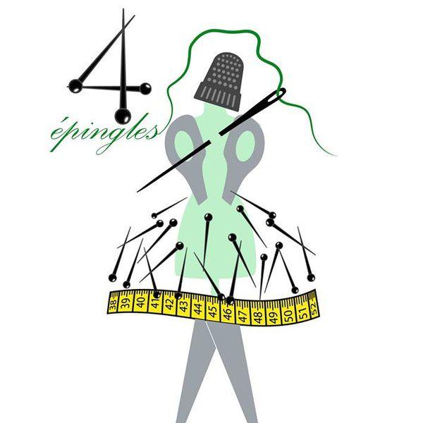4 Epingles couture et retouche