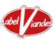 Label Viandes boucherie et charcuterie (détail)