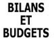 Bilans&Budgets administration de l'Economie et des Finances