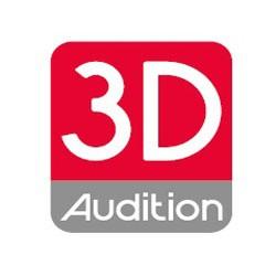 3D Audition matériel de soins et d'esthétique corporels