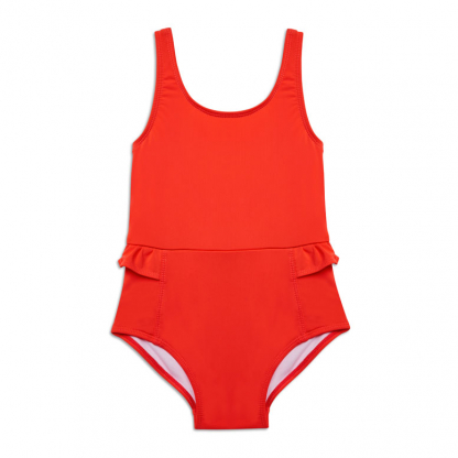Anemone Deep Coral Swimsuit