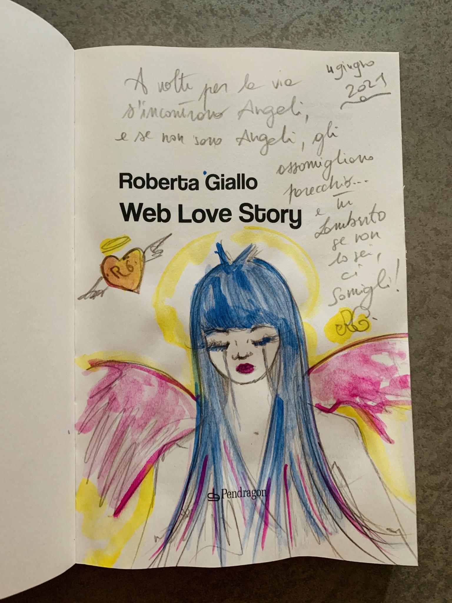 WEB LOVE STORY -  Romanzo