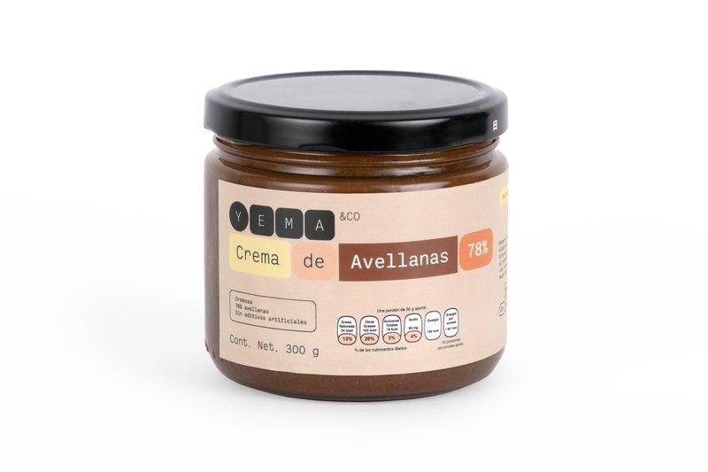 Crema de avellana
