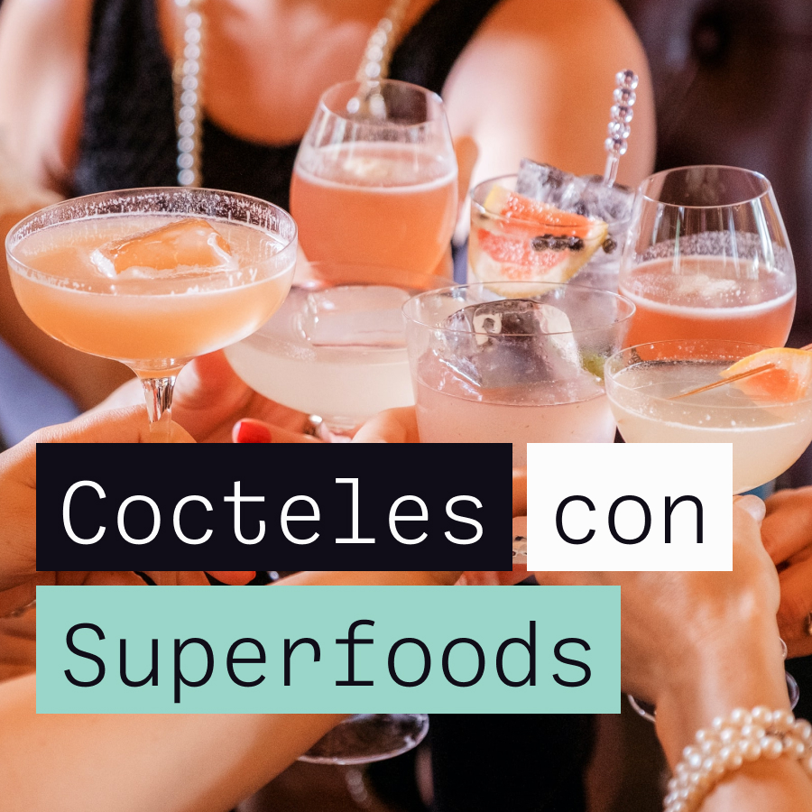 3 cócteles espectaculares con superfoods