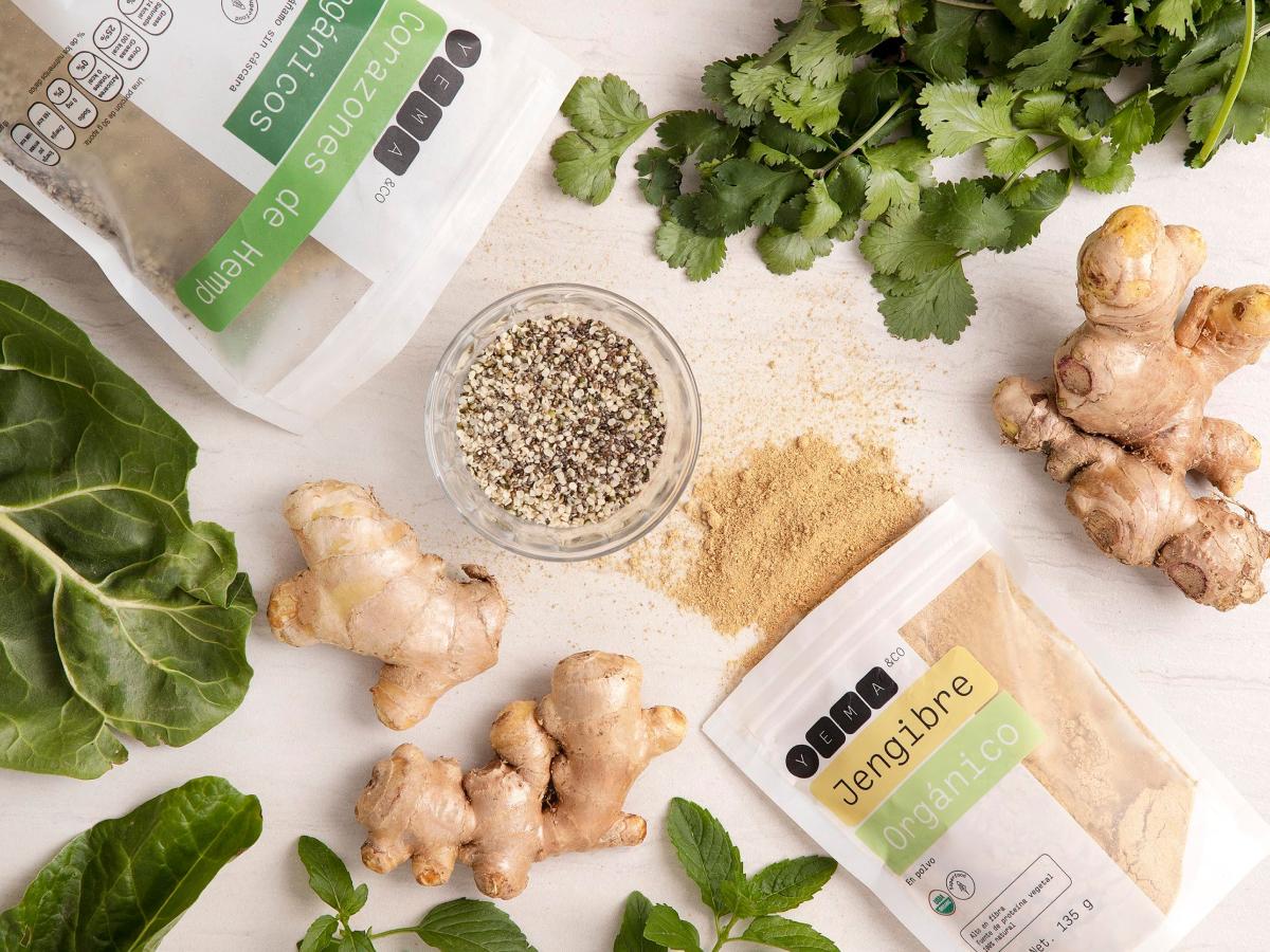 Todos los alimentos con ingredientes 100% naturales