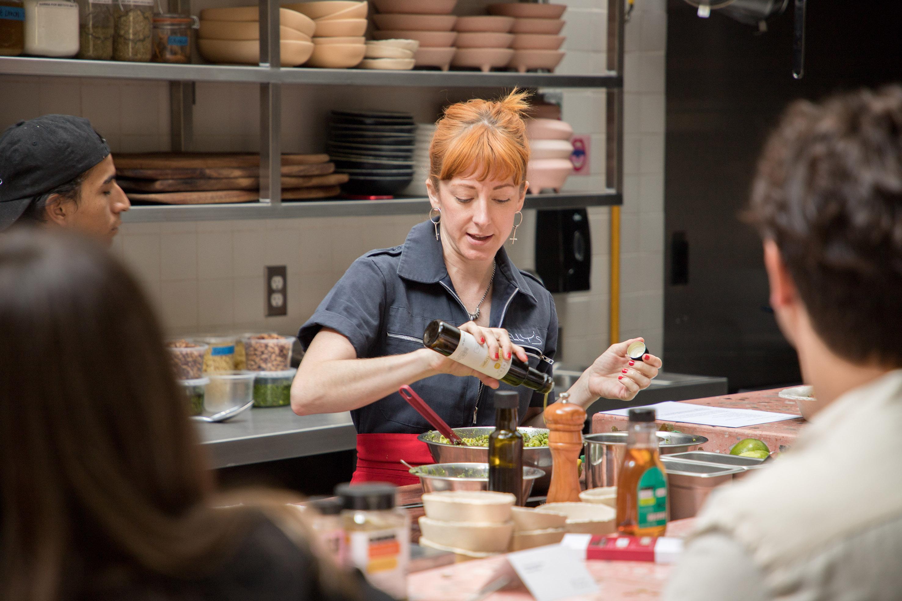 Colaboración en Elly's con la chef Elizabeth Fraser