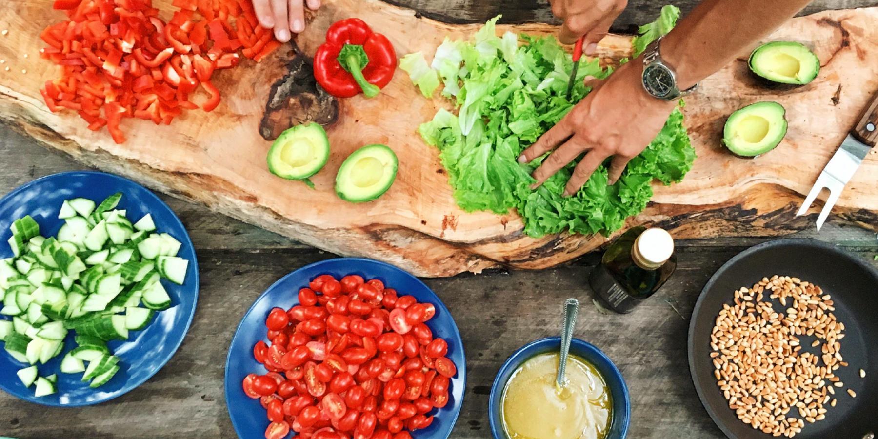5 pasos para hacer tus comidas más saludables