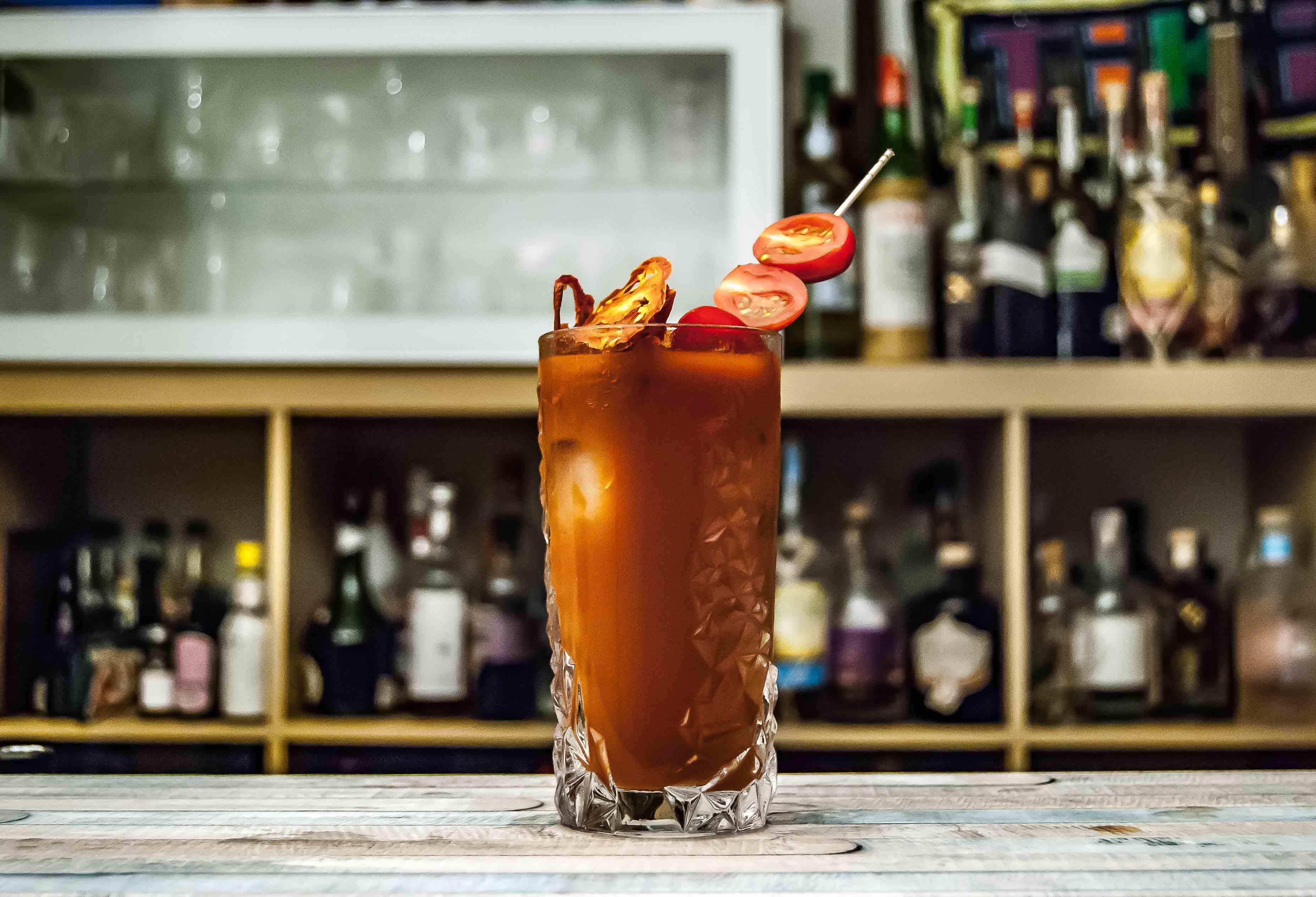 Receta de 'Bloody Mary' lleno de vitamina C
