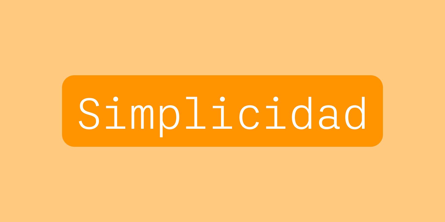 Simplificar nuestras recetas y formulaciones