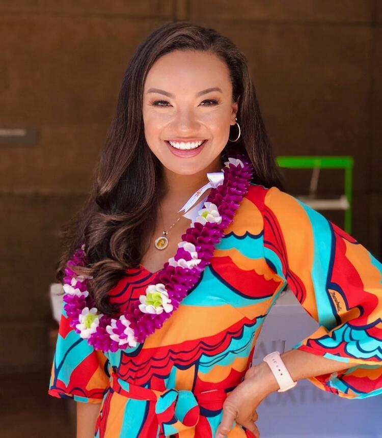 Hawaii Güzellik Kraliçesi Jeanne Kapela