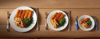 yemek porsiyonları