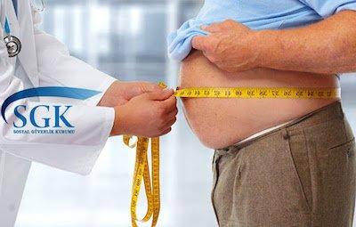 Tüp mide ameliyatını SGK karşılıyor