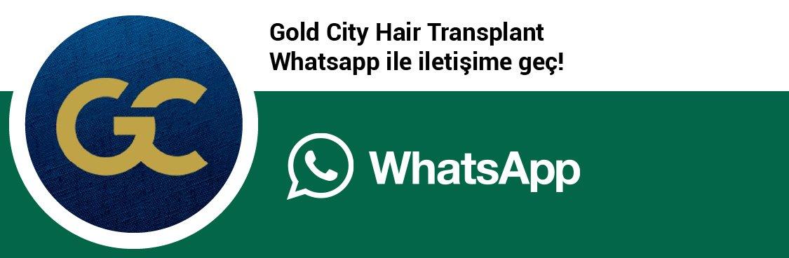 Gold City Hair whatsapp butonu