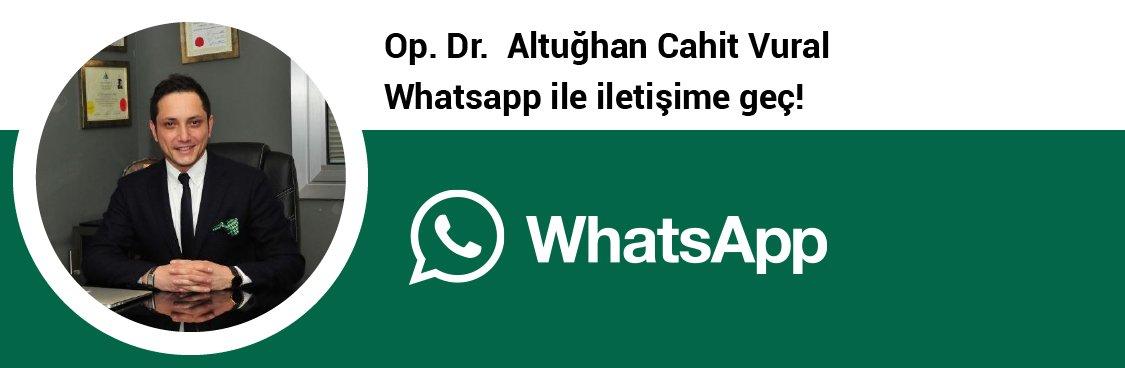 Op. Dr. Altuğhan Cahit Vural whatsapp butonu