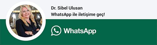 Dr. Sinel Ulusan whatsapp butonu