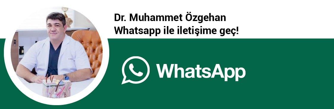 Dr. Muhammet Özgehan whatsapp butonu