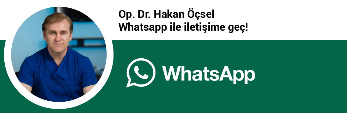 Op. Dr. Hakan Öçsel whatsapp butonu